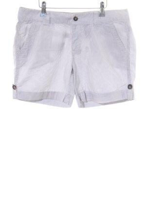 Esprit Shorts blau-weiß Streifenmuster Casual-Look