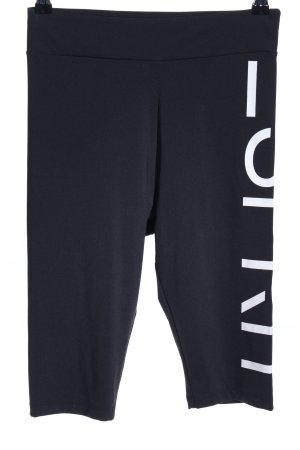 Esprit Shorts schwarz-weiß Motivdruck Casual-Look