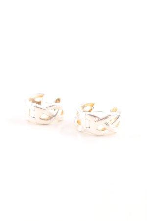 Esprit Zilveren oorbellen zilver-goud casual uitstraling