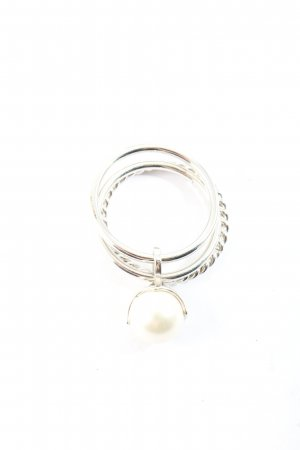 Esprit Silver Ring silver-colored-white casual look