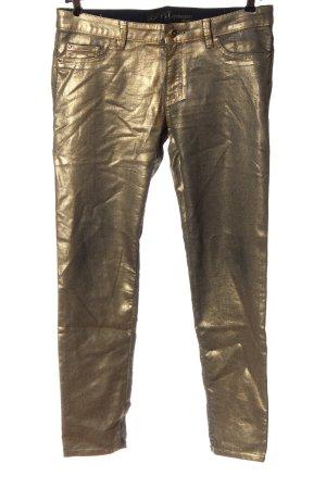 Esprit Skinny Jeans goldfarben Elegant