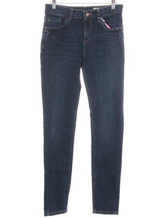 Esprit Skinny Jeans blau-bronzefarben Casual-Look