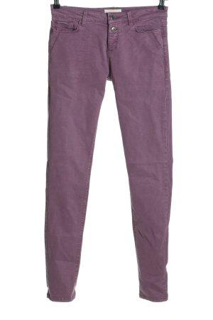 Esprit Skinny Jeans lila Casual-Look