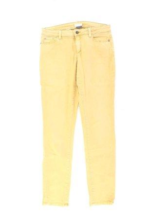 Esprit Skinny Jeans Größe 38 gelb aus Baumwolle