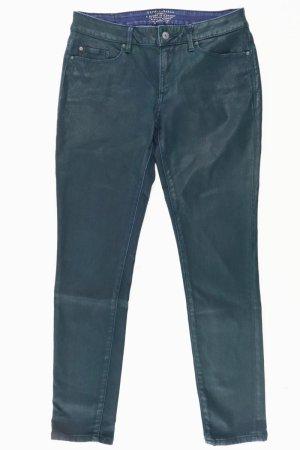 Esprit Skinny Jeans Größe W27 grün aus Baumwolle