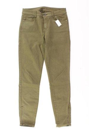 Esprit Skinny Jeans Größe XS olivgrün aus Baumwolle
