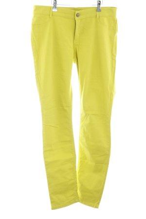 Esprit Slim Jeans blassgelb Casual-Look