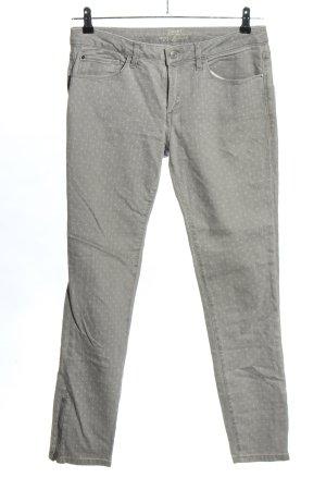 Esprit Slim Jeans hellgrau Allover-Druck Elegant