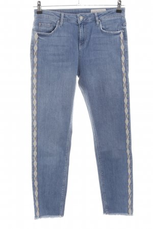 Esprit Slim Jeans grafisches Muster Casual-Look