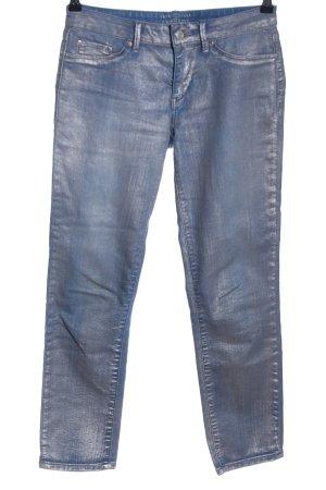 Esprit Slim Jeans blau-silberfarben Casual-Look