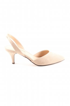 Esprit Slingback-Pumps creme Business-Look