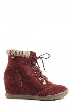Esprit Slouch Booties red casual look