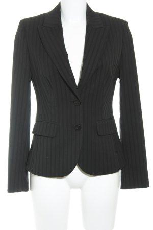 Esprit Smoking-Blazer schwarz Streifenmuster Business-Look