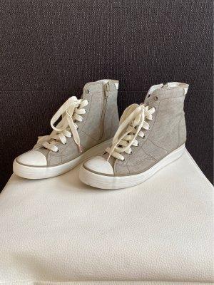 Esprit Zapatillas con tacón marrón grisáceo
