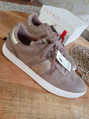 Esprit Sneaker Gr. 40 gold braun Turnschuhe