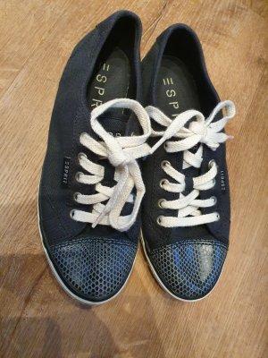 Esprit Sneakers in dunkelblau Gr 36