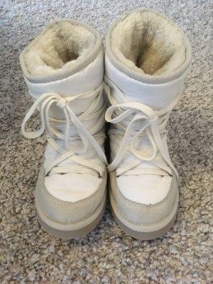ESPRIT SnowBoots Schneestiefel Winterstiefel weiß