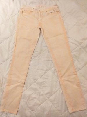 Esprit Pantalone cinque tasche arancione chiaro-albicocca