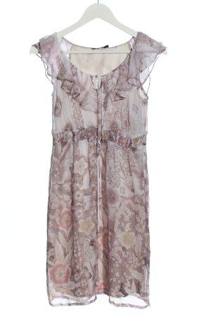 Esprit Summer Dress pink-light grey allover print casual look