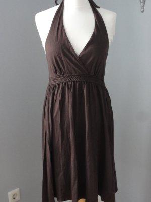 Esprit Sukienka z dekoltem typu halter brązowy