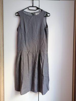 Esprit Sommerkleid grau oversize XS 34 Kleid