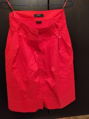 Esprit Spódnica midi jasnoczerwony
