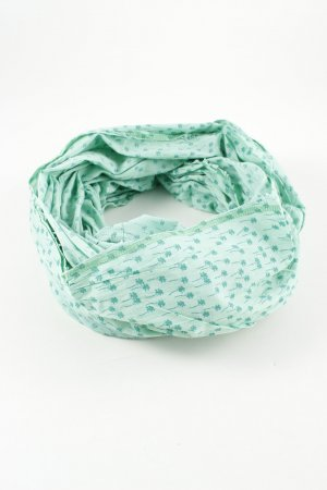 Esprit Summer Scarf turquoise allover print casual look