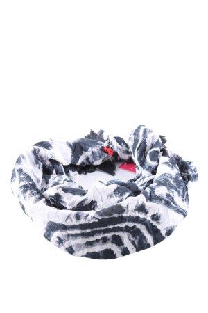 Esprit Écharpe d'été blanc-gris clair motif abstrait style décontracté