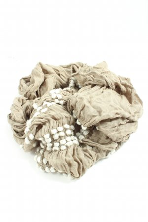 Esprit Summer Scarf natural white-white graphic pattern casual look