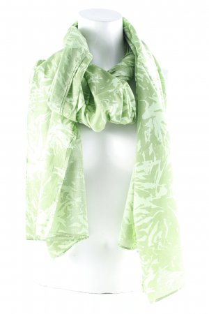 Esprit Summer Scarf green abstract pattern casual look