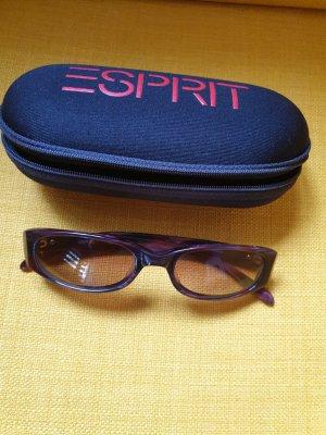 Edc Esprit Oval Sunglasses bordeaux