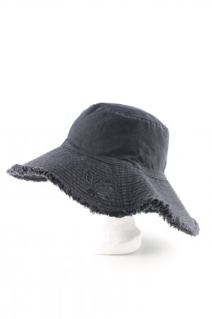 Esprit Sun Hat black embroidered lettering casual look