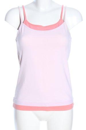 Esprit Spaghettiträger Top pink-nude Casual-Look