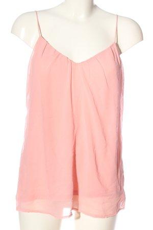 Esprit Top de tirantes finos rosa look casual