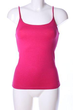 Esprit Top con bretelline rosa stile casual