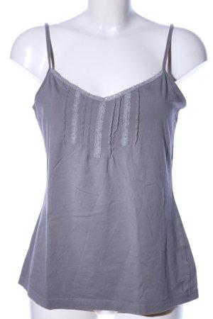Esprit Top con bretelline grigio chiaro stile casual