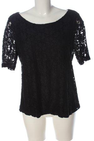 Esprit Kanten blouse zwart elegant