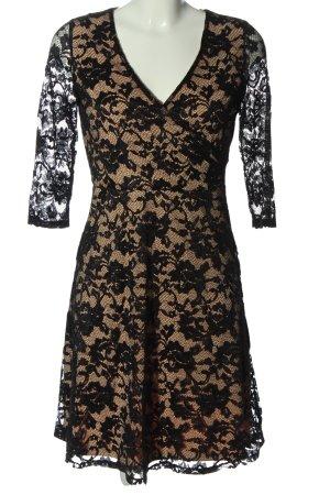 Esprit Spitzenkleid schwarz-nude Elegant