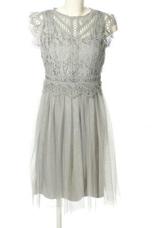 Esprit Lace Dress light grey elegant