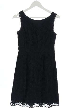 Esprit Lace Dress black weave pattern casual look