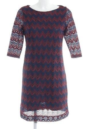 Esprit Spitzenkleid dunkelblau-karminrot klassischer Stil