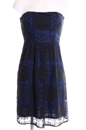 Esprit Spitzenkleid blau-schwarz Elegant