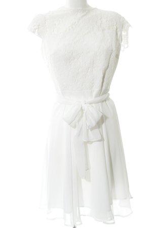 Esprit Spitzenkleid weiß Elegant