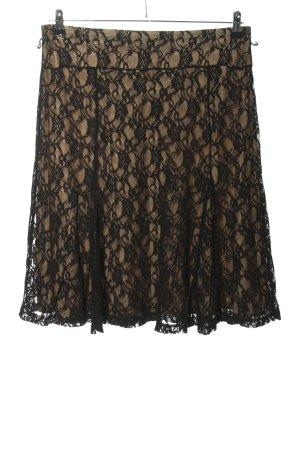 Esprit Spitzenrock schwarz Elegant