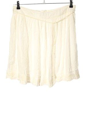 Esprit Falda de encaje blanco puro look casual