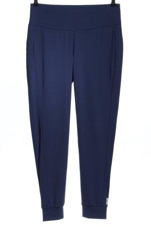 Esprit Pantalone da ginnastica blu caratteri stampati stile casual