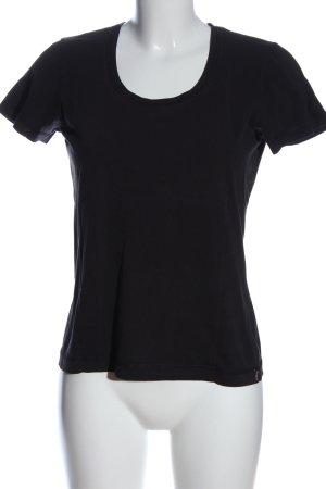 Esprit Sports Basic-Shirt schwarz Casual-Look