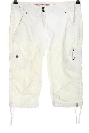 Esprit Sports Spodnie Capri biały W stylu casual