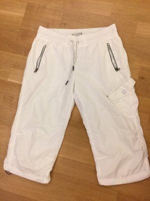 Esprit Sports Damen Hose Sport, Dreiviertel, weiß, Größe S, Top Zustand