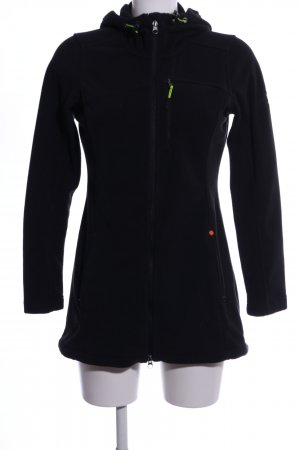 Esprit Sports Fleecejacke schwarz Casual-Look